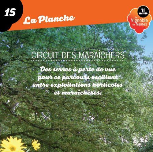 Les Maraîchers in La Planche circuit card