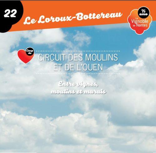Les Moulins et l'Ouen in Le Loroux Bottereau circuit card